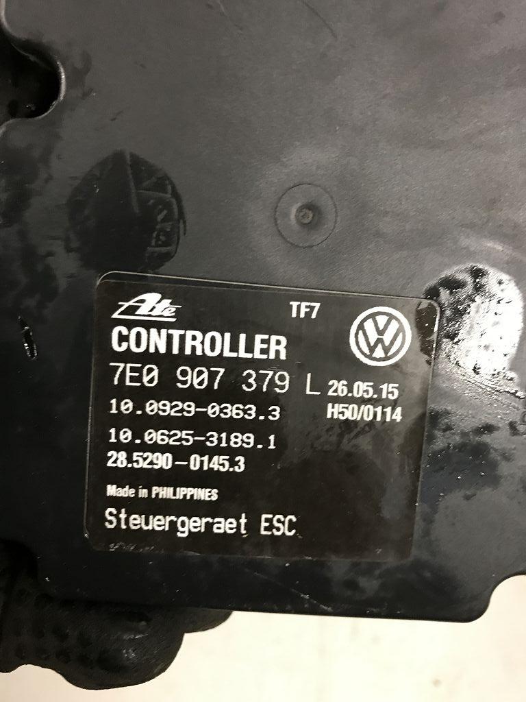 Abs World Online Engine Electronics Control Devices Used And Power Unit Hydraulic Description 7e0614517j 7e0907379l Esp